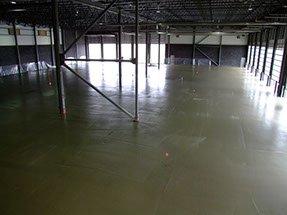 large concrete floor placed by Dynamic Concrete Pumping