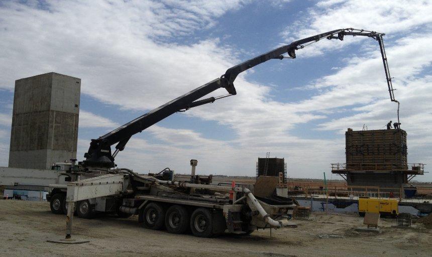 Dynamic Concrete Pumping at the Quarry Park Development project