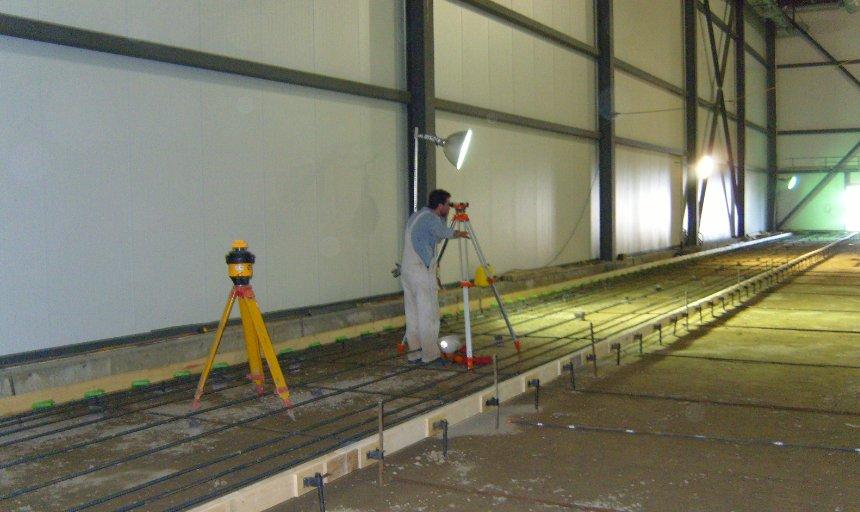 Dynamic Concrete Pumping contractor surveying a job site
