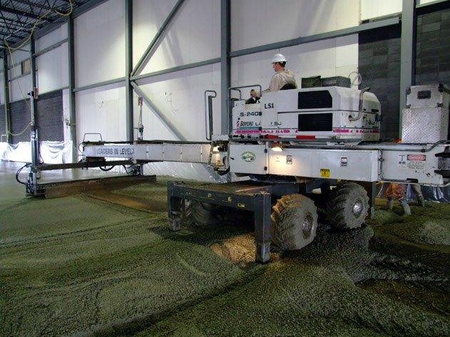 Dynamic Concrete Pumping concrete contractor ensuring flatter, stronger, and precise concrete slabs