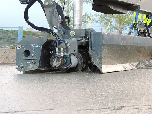 Dynamic Concrete Pumping equipment producing flat, strong, precise concrete slabs