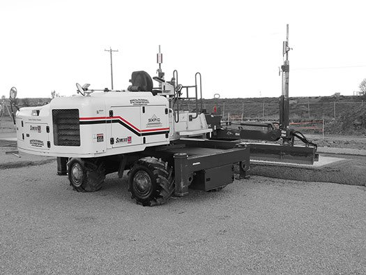 Dynamic Concrete Pumping laser screed service equipment