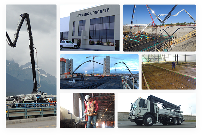 Concrete Pumping & Services | Dynamic Concrete Pumping