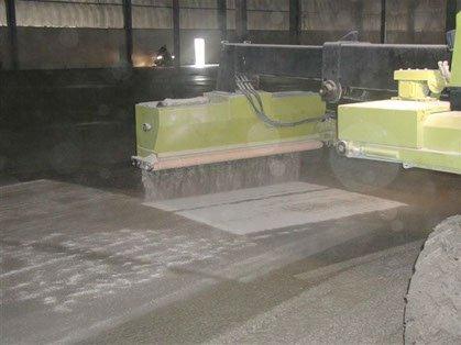 Dynamic Concrete Pumping hardener spreader spreading concrete