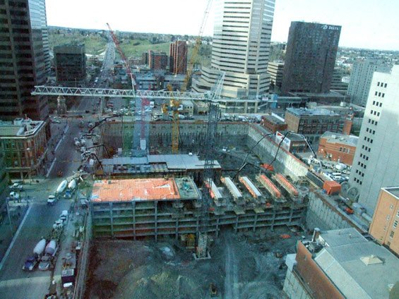 Dynamic Concrete Pumping at work on the Bow Building project