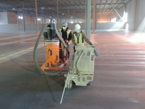concrete cutting services being done by a professional from Dynamic Concrete Pumping