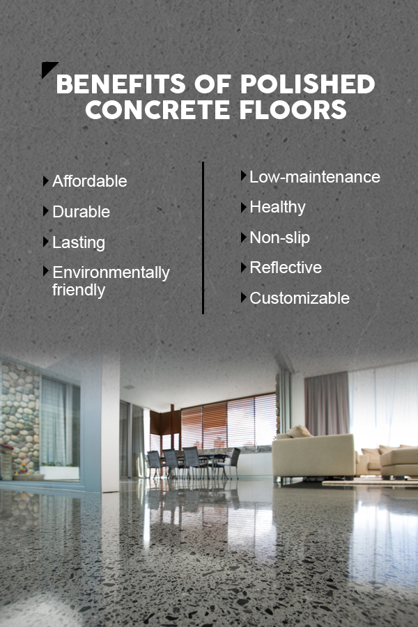 Benefits of Polished Concrete Floors