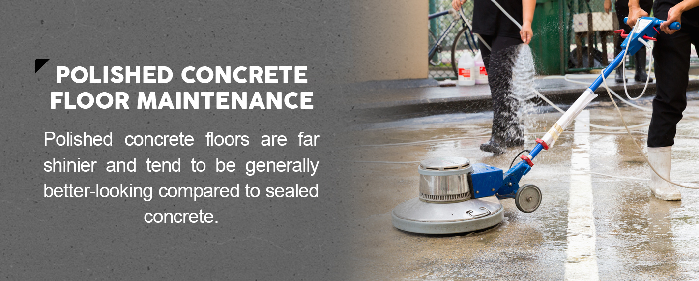 Polished Concrete Floor Maintenance