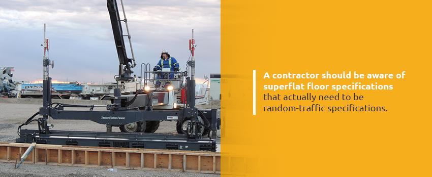 Superflat Floor Specifications