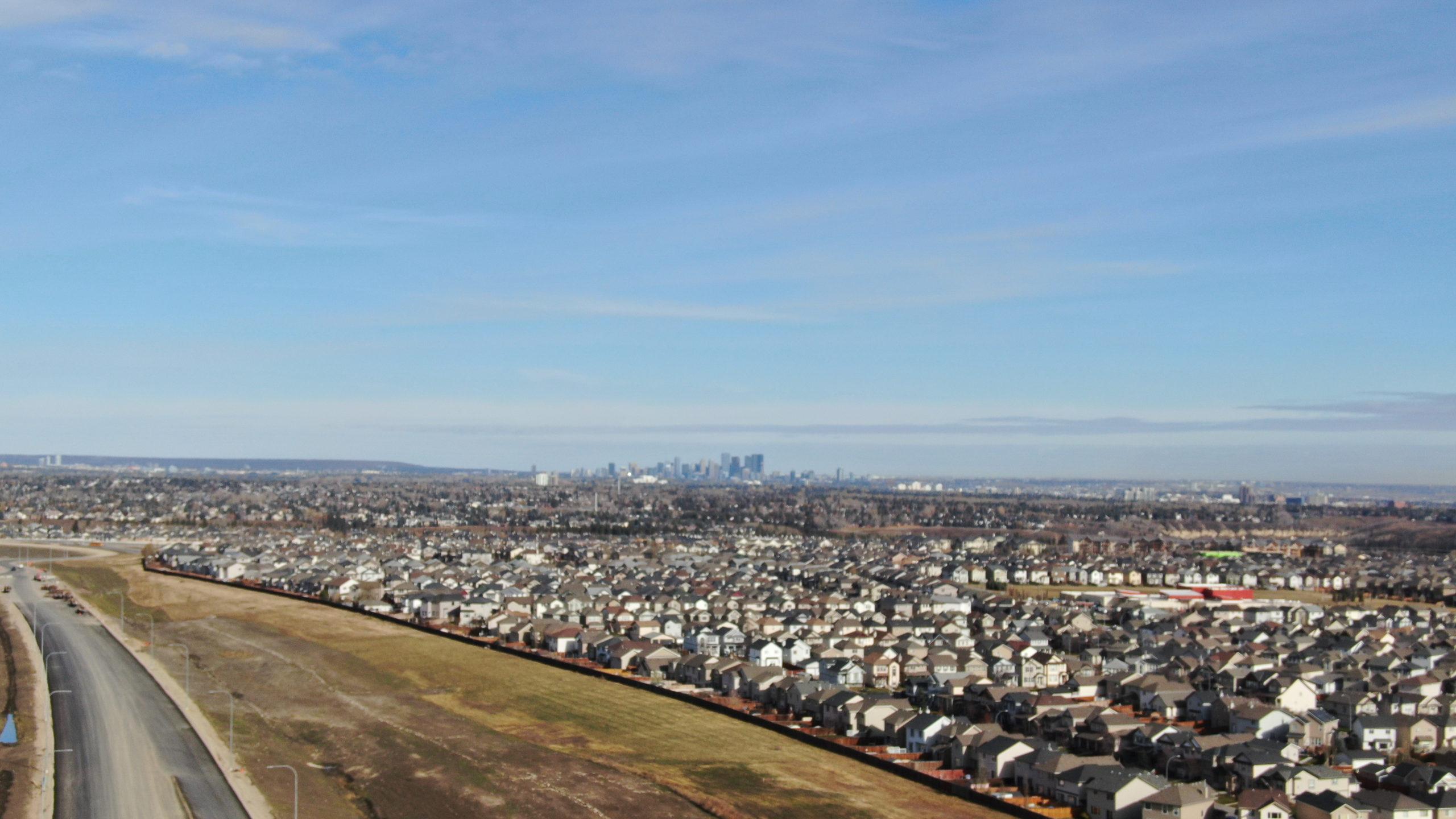 suburbs outside of Calgary